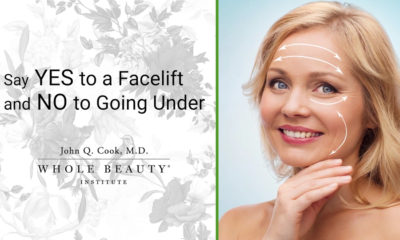 Say YES to a facelift and NO to going under.
