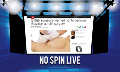 No Spin Live Episode 52 - Patient Deaths During BBL and Gisele's Regret.